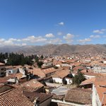View from room over Cuzco