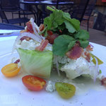 Wedge salad from Stanley's Steakhouse