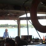 Glimpse Of St. Clair River Outside
