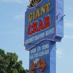 Giant Crab Sign