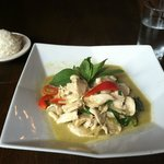 Green curry chicken- a favorite