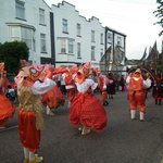Shanklin Carnival going past the Langham Court Hotel on Wednesday 7th August 2013