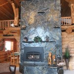 Incredible hearth and fireplace