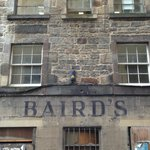 Nearby street, what was Bairds & Starks Department Store