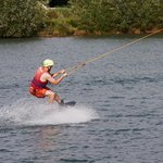 On a Wakeboard