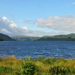 Loch Awe from Taychreggan Hotel (August 2013)