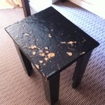 Dressing table stool condition