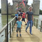 Nearby Bodiam Castle (15 mins drive)