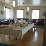 Breakfast room and buffet