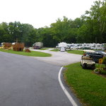 View of Short-term RV sites & playground