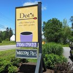 Dot's Sign out front