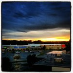 I took this pic from my 4th floor room after a storm.