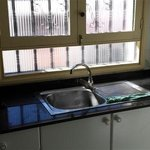 Old Window and Sink