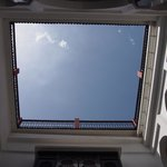 view of the sky from inside the riad (like a turrell!)