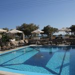 Pool and beach 50 meters from pool