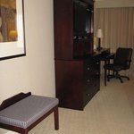 TV and desk -- Holiday Inn, Baton Rouge