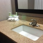Bathroom at Holiday Inn Express, Kerrville TX