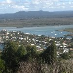 Lovely view of Noosa from the look-out