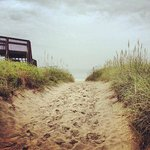Sandy path to beach (2 blocks from Inn)