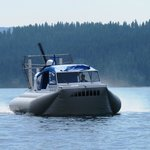 Hovercraft Rides on Lake Coeur d'Alene