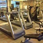 fitness room was more than adequate with 2 treadmills & a bike & a multi-station 'nautilus' mach