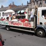 Midland Hotel float in Appleby Festival