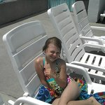 Our Daughter Pool Side