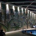 Swimming pool wall