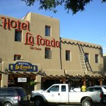 Hotel La Fonda de Taos From the Plaza