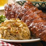Famous Ribs and Crab Cakes