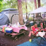 Fort Whaley Campground resmi