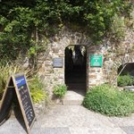 Entry to walled garden
