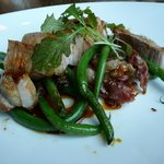 Pork Chop with Haricot Verts (73503977)
