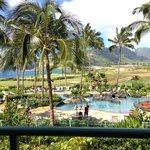 My morning view at Kauai Lagoons!
