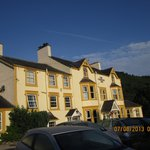 Coledale Inn in the early morning sun