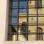 Reflection in a window - Montefalco