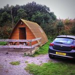 Our wigwam at East Grange