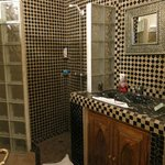 Traditional tiles in the bathroom
