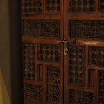 Intricate wardrobe door