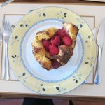 Rasberry french toast