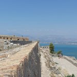 Castle ruin in nearby Nafplio