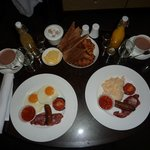 Breakfast in the room