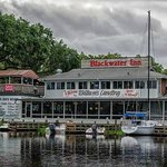 Blackwater Inn & William's Landing, Astor, Fl. (dockside)