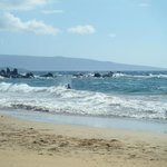 Nearby Wailea beach