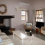 Lounge in our suite  at Karoo View