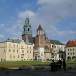 Krakow's Royal Palace and grounds and citadel