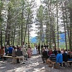 Wedding Ceremony at the Alpine Club