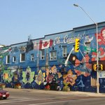 Canadian Moments Mural