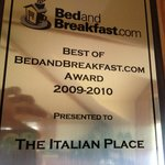 Foto van The Italian Place Bed and Breakfast