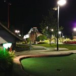 Outdoor Miniature Golf Area
